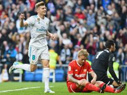 Auch Kroos darf mal: Real überrollt überfordertes Sevilla