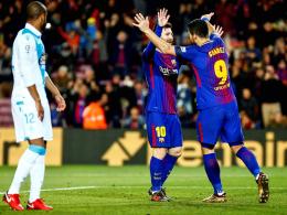 Barça in Clasico-Form - Suarez wird Rabona-Tor verwehrt