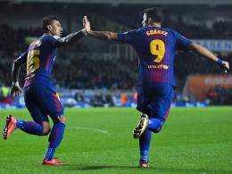 Suarez trifft und trifft: Barça beendet Anoeta-Fluch!