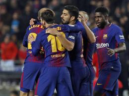 Barça bucht das Halbfinale - Coutinho feiert Debüt