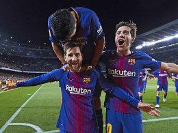 Alaves ärgert Barça - bis Messi kommt