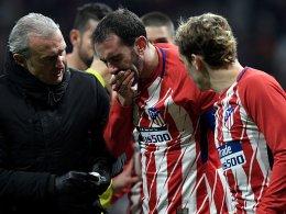 Atletico siegt dank Correa - Godin muss zum Zahnarzt