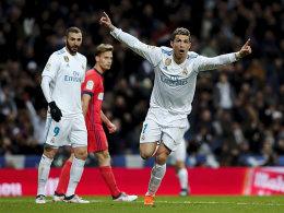Dreierpack Ronaldo! Real scheint gerüstet für PSG