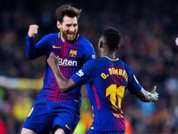 Katz und Maus: Coutinho und Dembelé veredeln Messis Gala