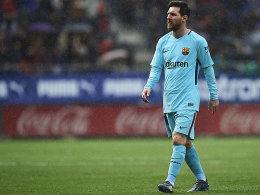 Messis wuchtiger Freistoß reicht Barcelona nicht