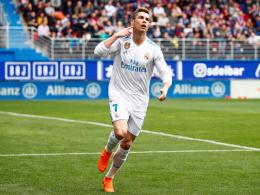 Erst traumhaft, dann auf Einladung: Ronaldo bestraft Eibar