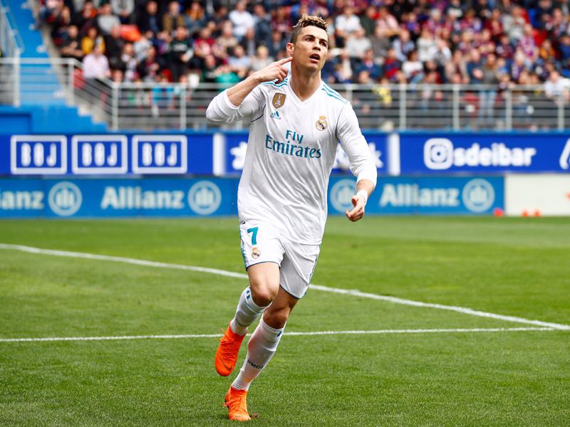 Ronaldo schießt Real zu 2:1-Sieg in Eibar