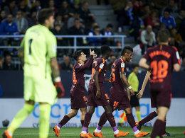 Barcelona lässt Gnade walten: Nur 2:0 gegen Malaga