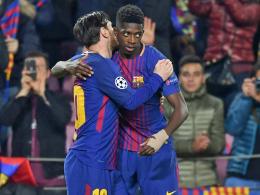 LIVE! Barça führt schon: Messi leitet diesmal nur ein!