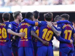 Nur eine 45-Minuten-Show: Messi dankt Dembelé, Coutinho im Pech