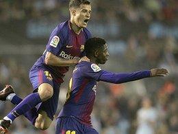Rot und umstrittener Ausgleich: Barcelona spielt 2:2