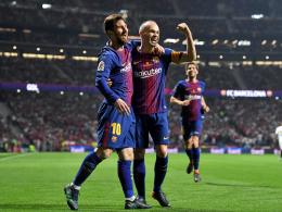 Iniestas Abschiedsgeschenk: Barça krönt sich mit Gala