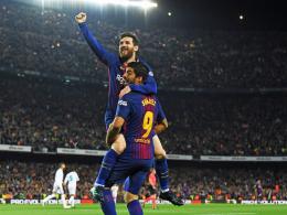 Bale kontert Messi - 2:2 im Clasico