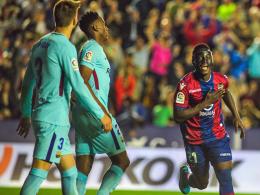5:4! Levante spielt's katalanisch und entzaubert Barça