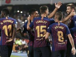 Barça knackt Sevilla: Dembelé bricht den Bann