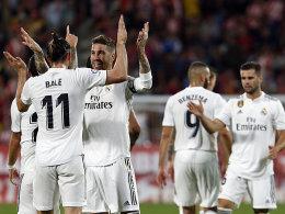 Ohne Modric und Courtois: Real hält mit Barça Schritt