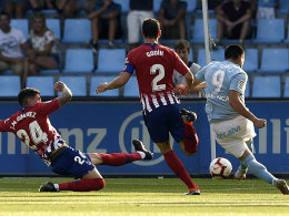 Dank Gomez und Aspas: Celta entzaubert Atletico