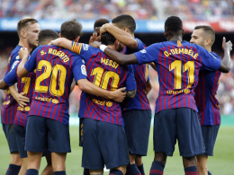 Huesca spürt Barças Zorn - Dembelé immer stärker