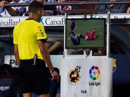 Lenglet Opfer des Videobeweises: Barça lässt erstmals Federn