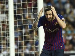 Nur 1:1 in Valencia: Barças Liga-Krise hält an