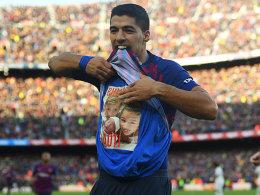5:1 im Clasico! Suarez-Gala schmerzt Real