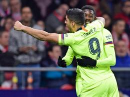 Ausgerechnet Dembelé rettet Barcelona