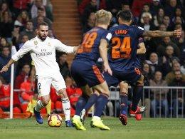 Sieg Nummer 7 für Real: 2:0 gegen Valencia