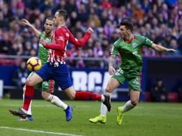 Brust rein, Bauch raus: Atletico macht Barça Beine