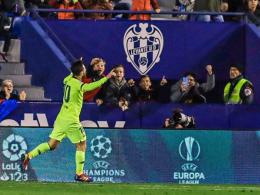 Messi-Show lässt Barça jubeln