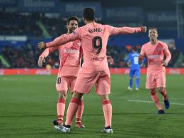 Viel Glück, wenig Glanz: Barça gewinnt in Getafe