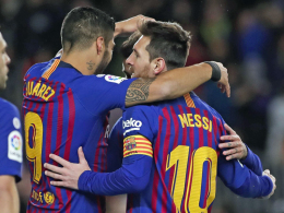Doppelpack Suarez, aber Messi der Held mit 400. Liga-Tor!
