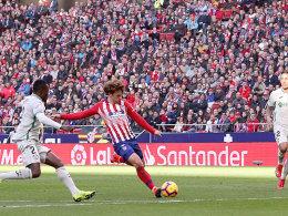 Griezmann wie Messi - Saul sorgt für die Entscheidung