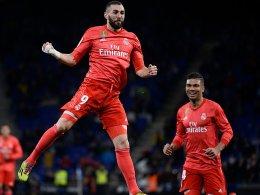 Ramos verletzt, Varane sieht Rot - und Benzema überragt
