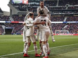 Real gewinnt heißes Stadtduell und überholt Atletico