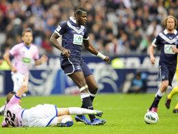Cheick Diabate machte im Finale gegen Evian zwei Tore.