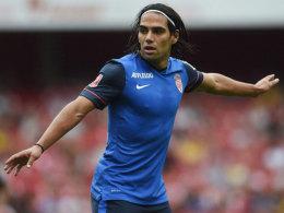 Kurzeinsatz nach langer Verletzung: Radamel Falcao wurde gegen Valencia eingewechselt.