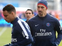 Gregory van der Wiel und Zlatan Ibrahimovic