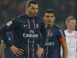Thiago Silva w�rde mit Ibrahimovic verl�ngern
