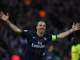 K�nig und Legende: Ibrahimovic erntet Applaus