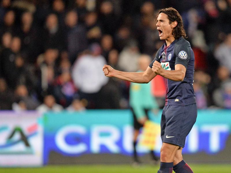 Cavani Fußballer des Jahres in Frankreich
