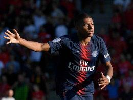 Keine Reue: Mbappé für drei Spiele gesperrt