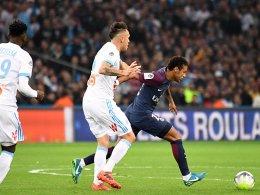 Theater und späte Tore in Marseille - Neymar fliegt