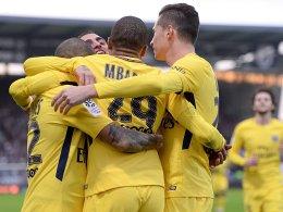 Draxler, Cavani und Mbappé führen PSG zum Kantersieg