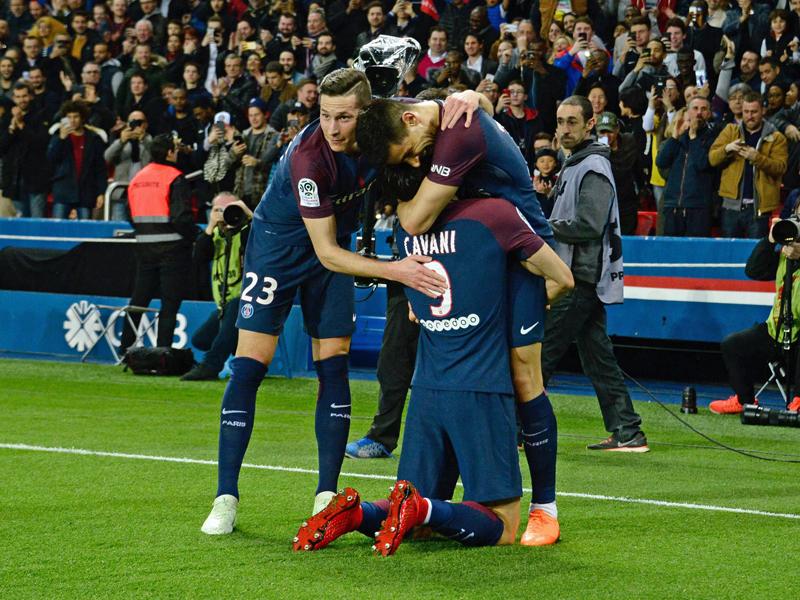 PSG nach Gala-Vorstellung gegen Monaco französischer Meister