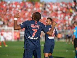 Mbappé schießt PSG zum Sieg und fliegt in der Schlussphase