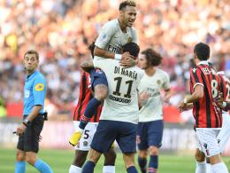 Acht aus acht: Der PSG-Startrekord wächst in Nizza
