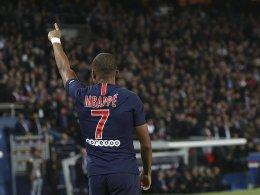 Vier Tore in 14 Minuten: Mbappé geht steil