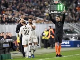 Neymar muss runter, Areola patzt: PSG lässt erstmals Federn