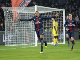 Ohne Urlauber Neymar: Mbappé rettet PSG den Sieg