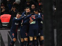 9:0 - PSG schießt Guingamp ab